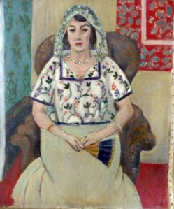 Woman Sitting In A Chair by Henri Matisse