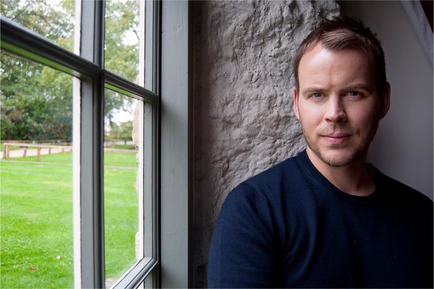 Giles Kristian (c) Nigel Edgecombe