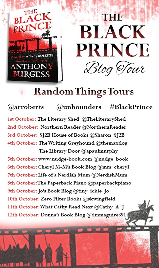 Black Prince Blog Tour poster