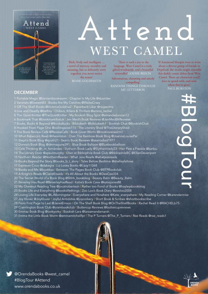 Attend Blog Tour Poster