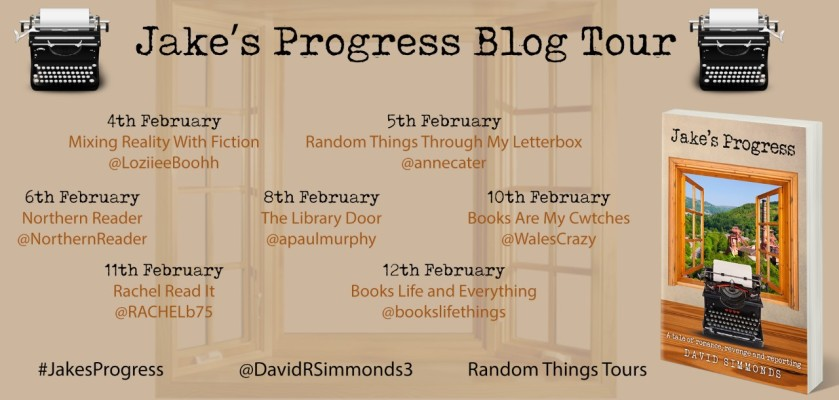 Jake's Progress Blog Tour Poster