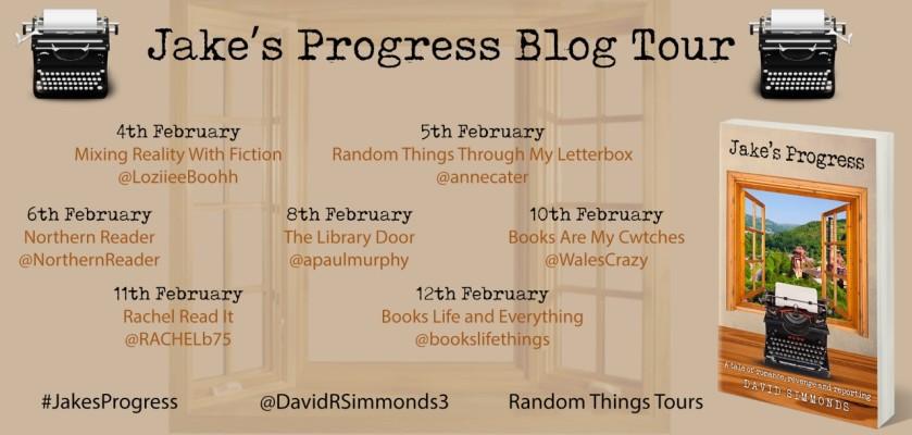 Jake's Progress Blog Tour Poster