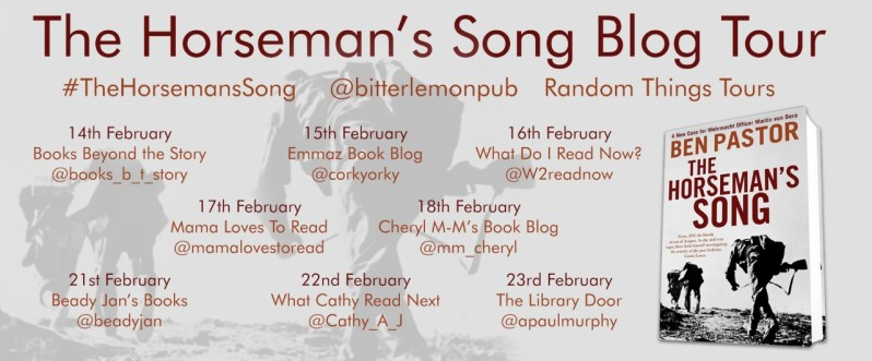 The Horsemans Song Blog Tour Poster