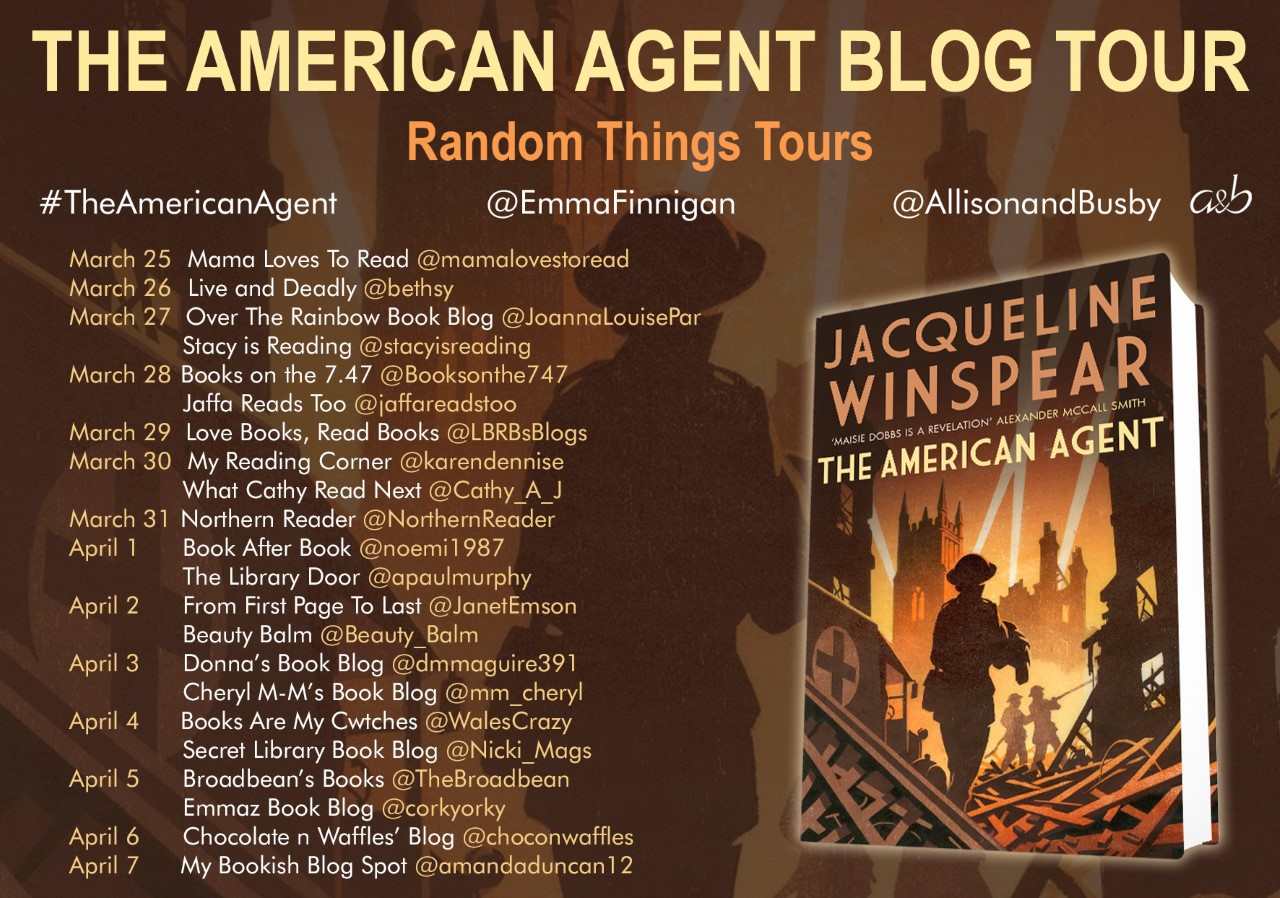 The American Agent Blog Tour Poster