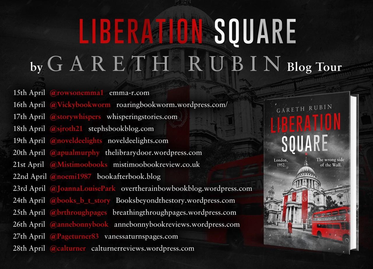 Liberation Square Blog Tour Banner