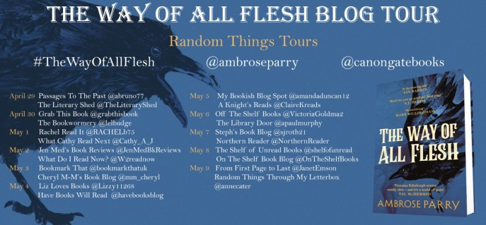 The Way Of All Flesh Blog Tour Poster