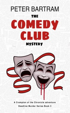 The Comedy Club Mystery Cover