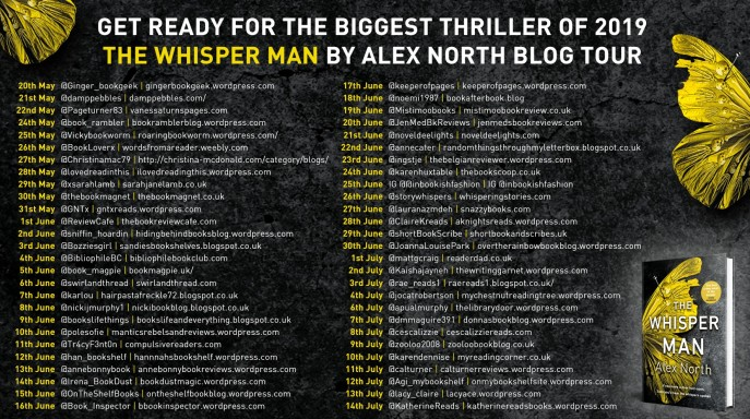 Whisper Man Blog Tour Banner